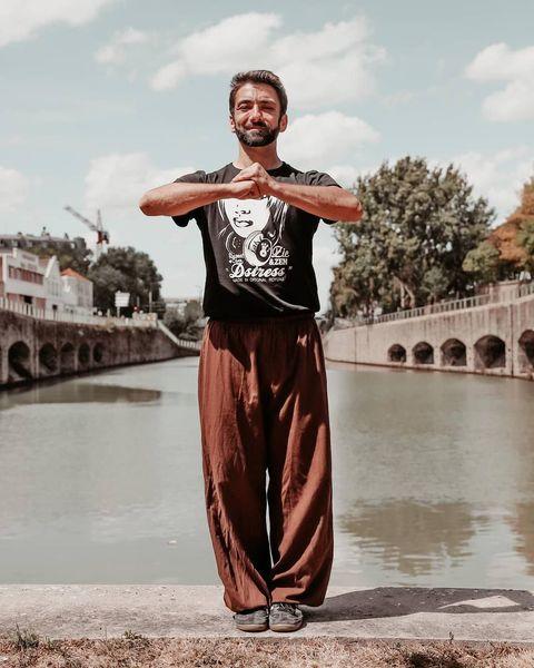 Photo d'Adrien Matter de Yoga pour hommes