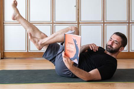 livre yoga pour hommes adrien matter